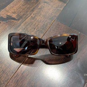 BCBGMAXAZRIA brown cheri sunglasses OS